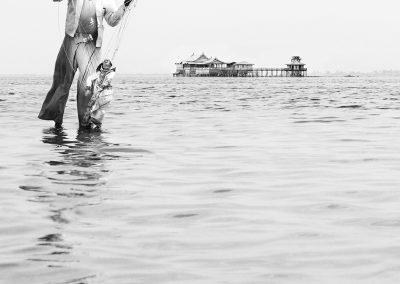 A spirit on the lake (Burma)