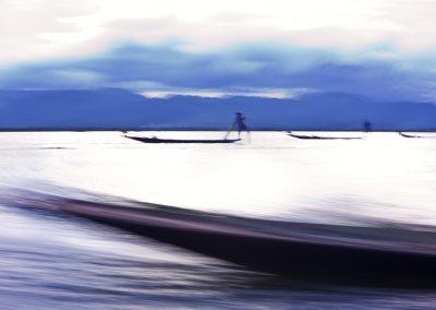 Artistic Boat Inle (Burma)