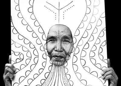 Artistic face 2 (Burma)