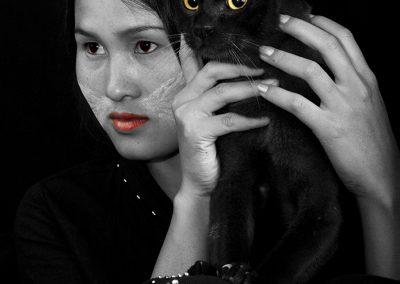 Cats eyes (Burma)