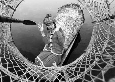 Fishing bird (Burma)
