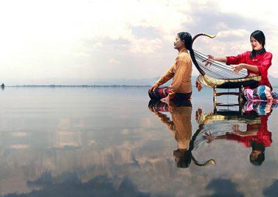 Hair Harp Poetry (Burma)