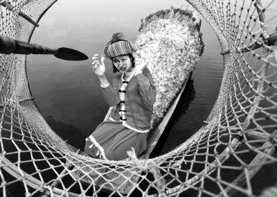 Inle Bird Fish