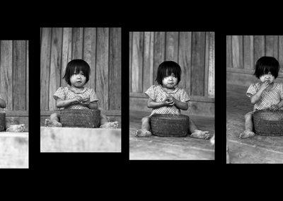 Litle Chin Girl '' Bon appetit'' (Burma)