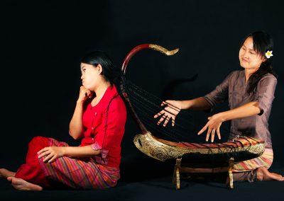 Musicial Hairs (Burma)
