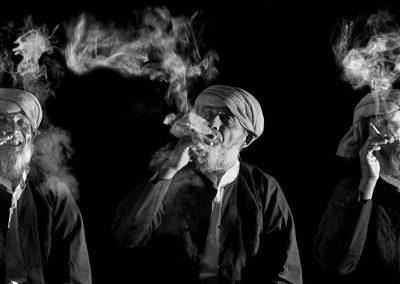 Smoking time (Burma)