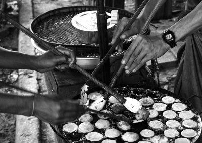 The danse of the food (Burma)
