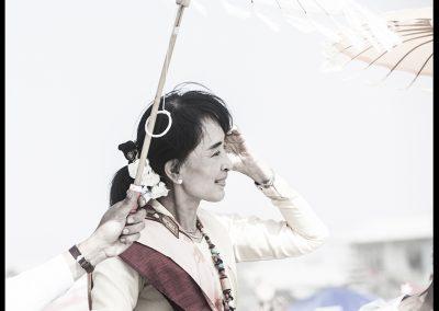 The lady (Burma)