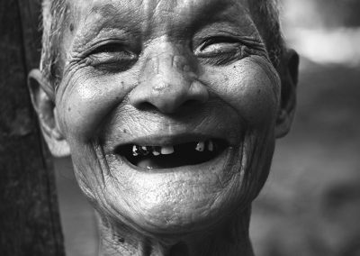 The smile of the tooth (Burma)